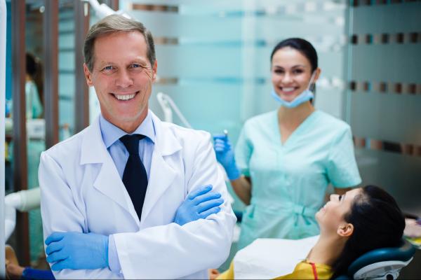 digital and panoramic dental x-rays